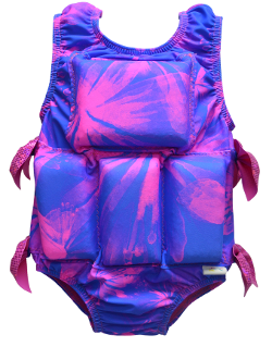 Girls Flotation Swimsuit - NEW - Floral Exposure