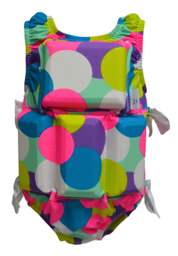 Girl's Flotation Swimsuit - Gum Ball