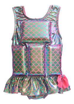 Girl's Flotation Swimsuit - NEW - Magical Mermaid