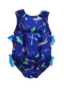Girl's Flotation Swimsuit - Bass Boat