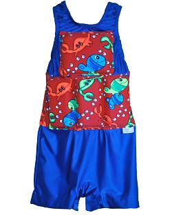 Boy's Flotation Swimsuit - Blue Crab