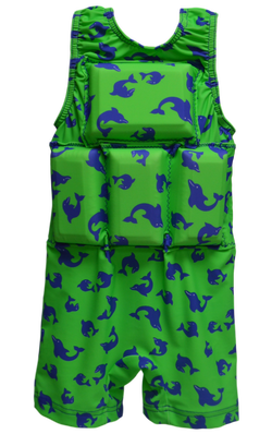 Boys Flotation Swimsuit - NEW - Dolphin