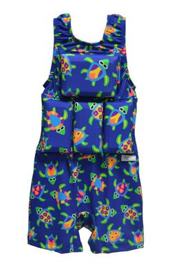 Boy's Flotation swimsuit - NEW -Turtles