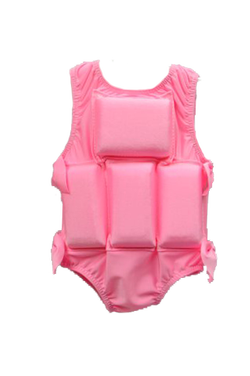 Girls Flotation Swimsuit - Bubblegum Pink