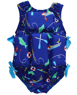 Girl's Flotation Swimsuit - Daddy's Little Girl