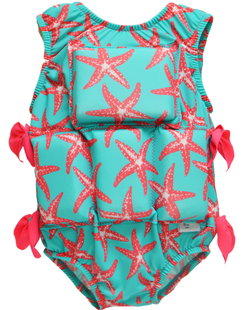 Girl's Flotation Swimsuit - NEW -Starfish