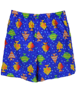 Special Needs Youth Swim Diaper Trunks- Metro Fish