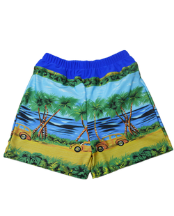Special Needs Youth Swim Diaper Trunks - Island Cruise