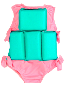 Girl's Flotation Swimsuit - Cotton Candy