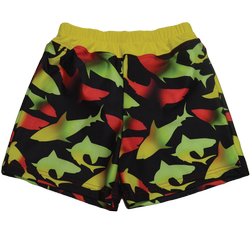 Special Needs Youth Swim Diaper Trunks-Watercolor Shark