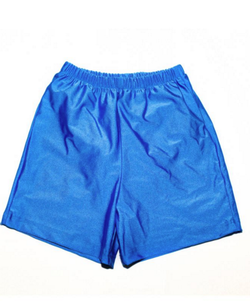 Special Needs Youth Swim Diaper Trunks - Royal Blue
