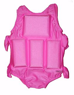 Girl's Flotation Swimsuit - Hot Pink