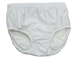 Reusable Swim Diaper - White (Youth)