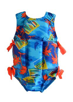 Girl's Flotation Swimsuit - Woody