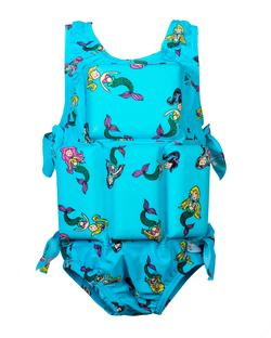 Girl's Flotation Swimsuit- Mermaid
