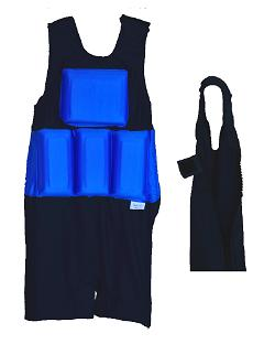 Special Needs Flotation Swimsuit Royal Blue