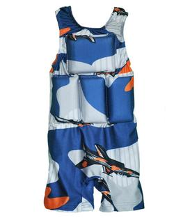 Boy's Flotation Swimsuit - Jet Pilot