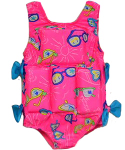Girl's Flotation Swimsuit - Sunglasses